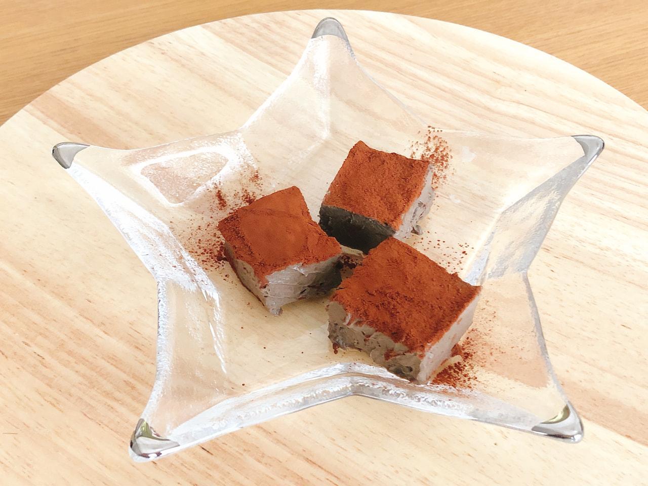バレンタインにピッタリ!簡単、ヘルシーな生チョコレート風ごまチョコレートの作り方