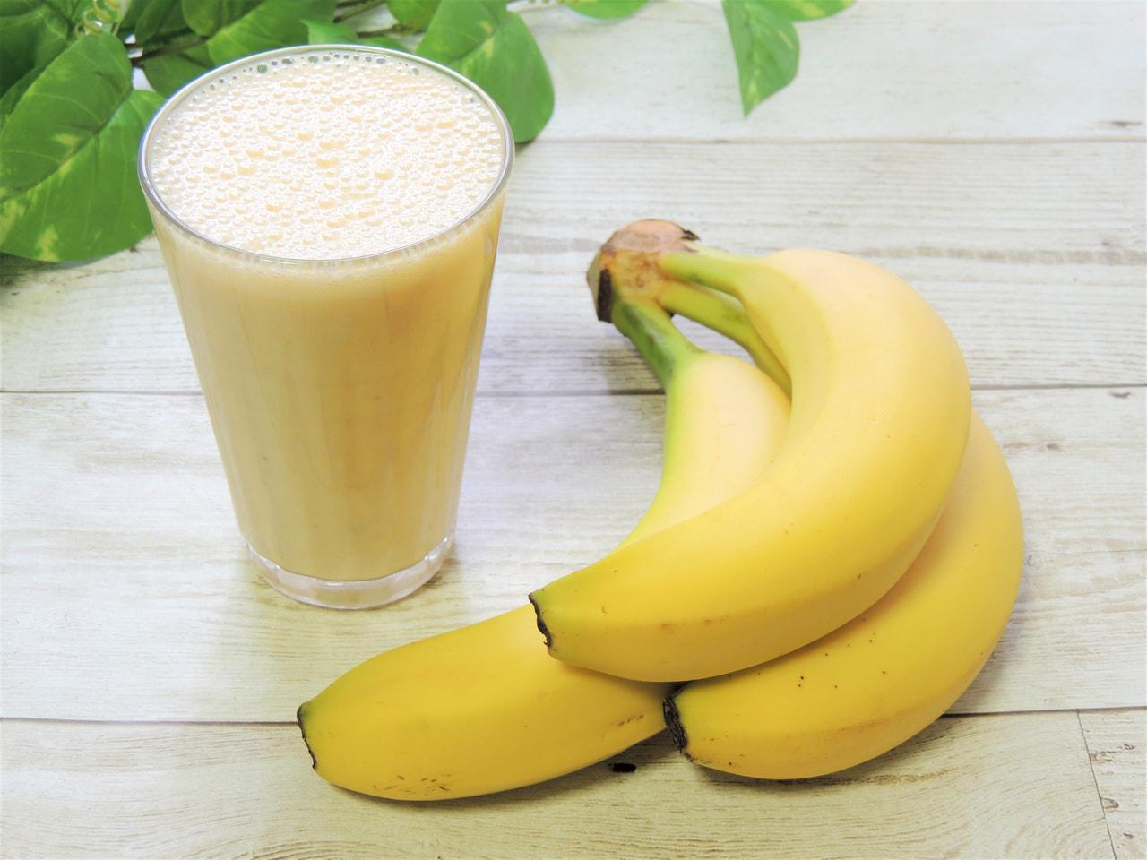 おすすめレシピ⑭【タピオカに次ぐ大注目ドリンクのバナナジュース♪】