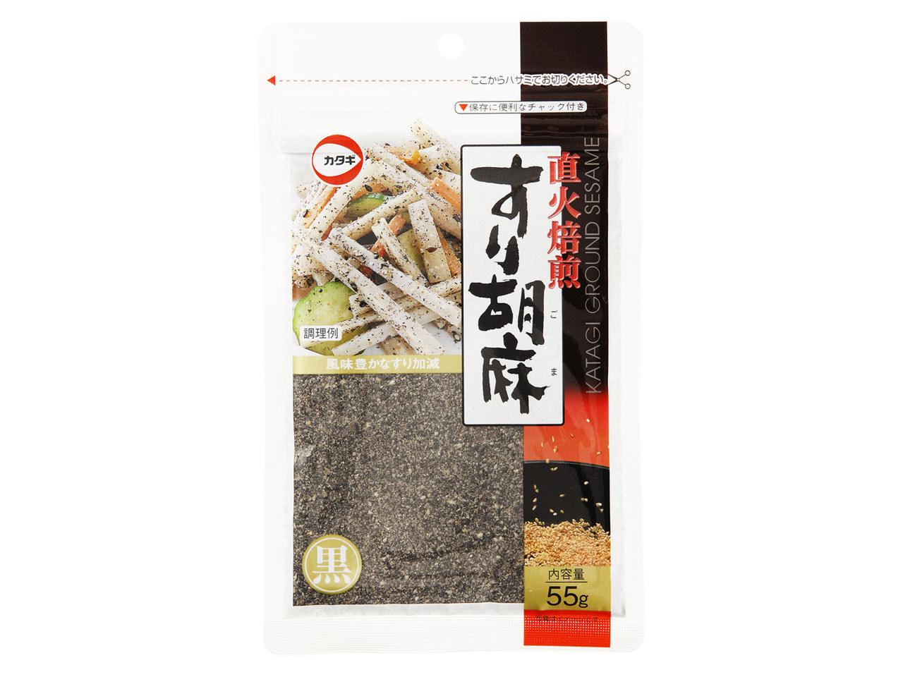 直火焙煎すり胡麻黒55g