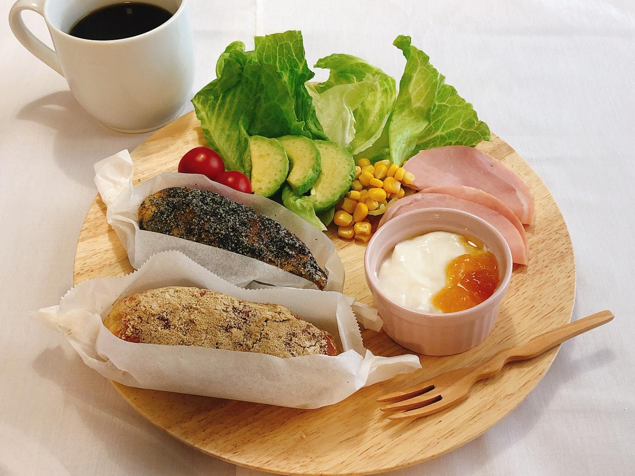 ごま揚げパン(2種)