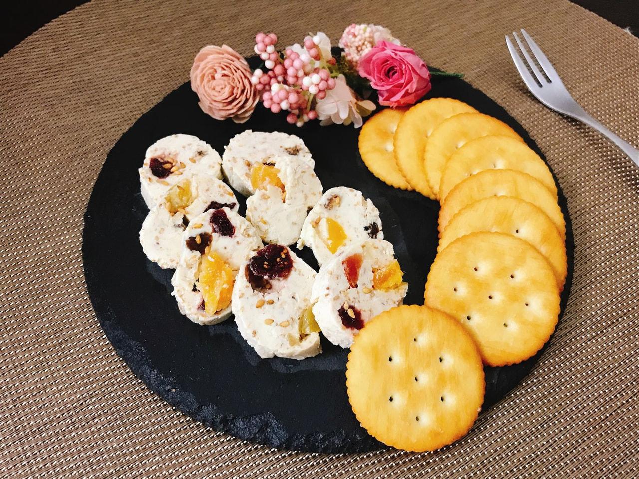 セサミフルーツクリームチーズ