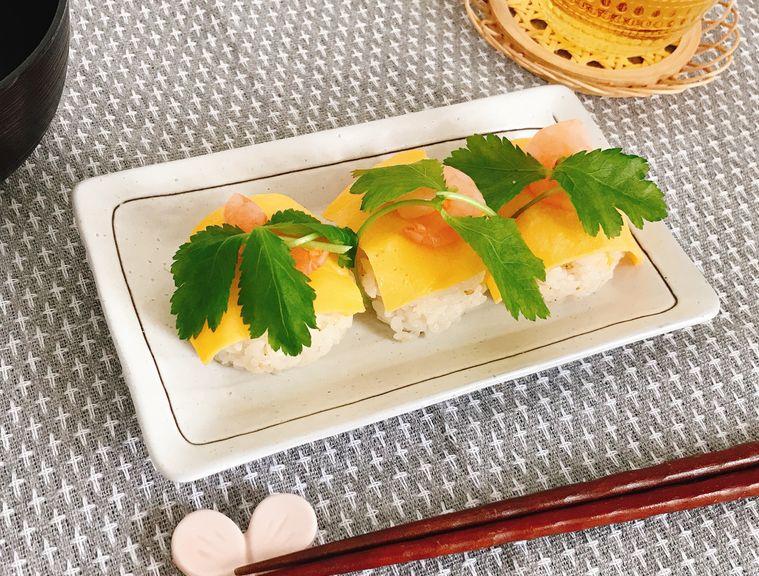 和え胡麻の手毬寿司