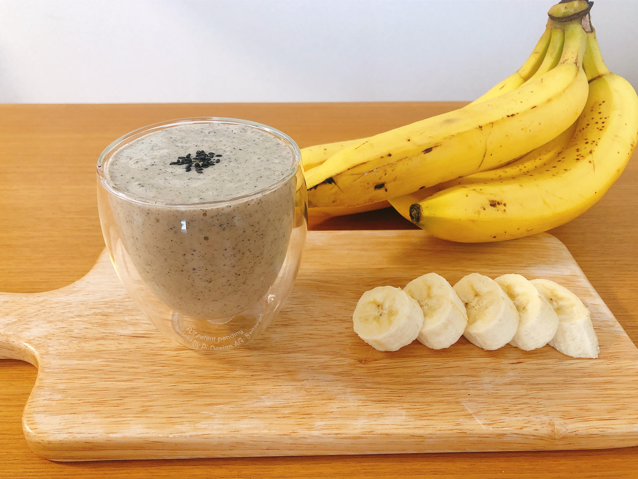 黒ごまバナナジュース